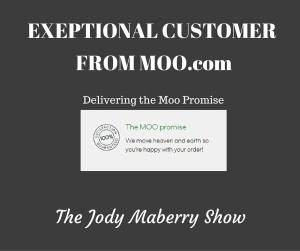 Exceptional Service From Moo.com