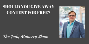 Should You Give Away Content for Free?