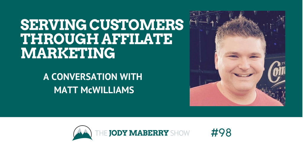 affiliate marketing matt mcwilliams