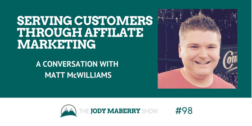 affiliate marketing matt mcwilliams