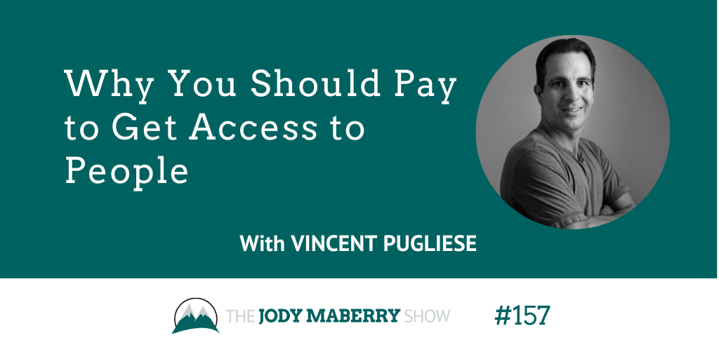 why you should pay to get access to people